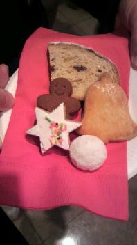 クッキー。
